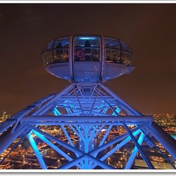 At the top of 'The London Eye'
