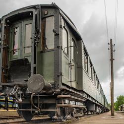 Oud Rijtuig spoorwegen