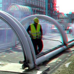 Sloop metro-station Alexander Rotterdam 3D