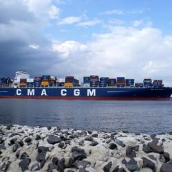 Containerschip CMA CGM Gemini