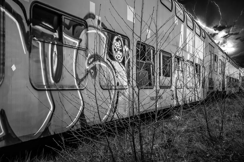treinkerkhof - Oude trein.....