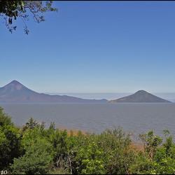 Momotombo vulkaan...