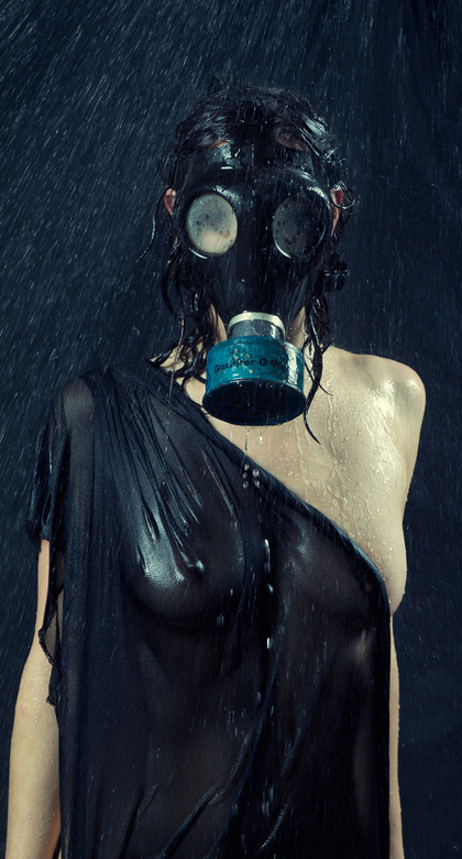 Nuclear shower - @@ some portret wet art @@