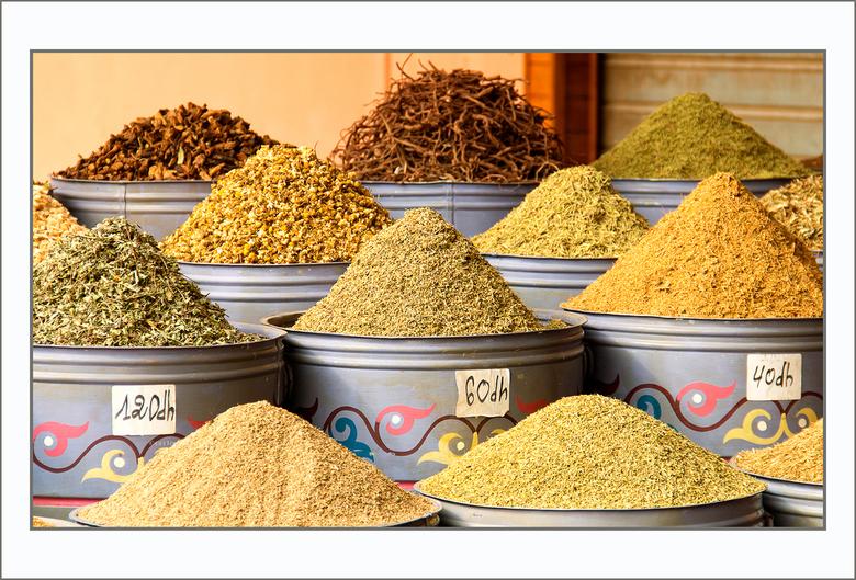 op de markt - in Marrakesh