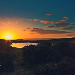 Addo Elephant Park Sunset