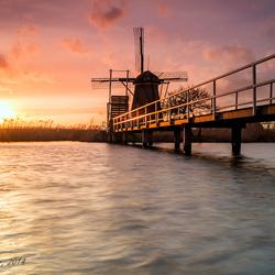 Dutch Mill - Kinderdijk