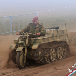Beginnend tank-chaufeur .....