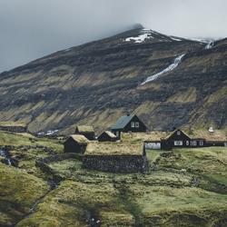Typisch Faeröers uitzicht