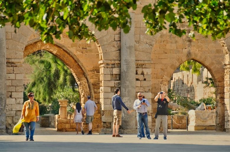 Cyprus-86. - De poorten van Famagusta.<br /> Een stad die de status had van de rijkste en de voornaamste van Cyprus en in 1300 al<br /> bestond.