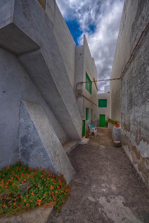 spaans steegje - steegje Punta Mujeres Lanzarote 2019