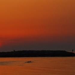 zon's opkomst Venetie