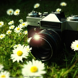 Zenit~E 1965 camera.
