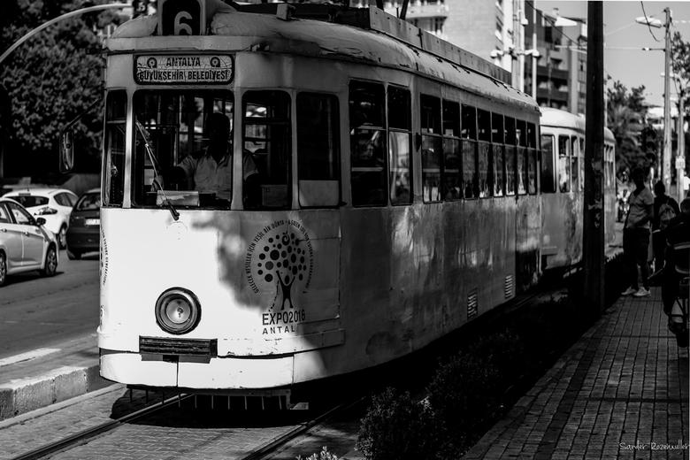 Oude tram  -