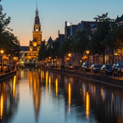 Avond in Alkmaar