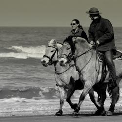 Paartje op het paard