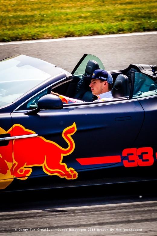 Max Verstappen - circuit zandvoort - Max Verstappen tijdens de Jumbo Race dagen 2018 Op Circuit Zandvoort. Red Bull Racing was aanwezig met 3 rijders