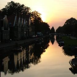 Oud Zaandam - nacht