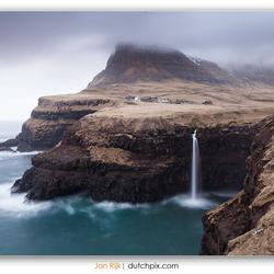 Gásadalur Waterfall