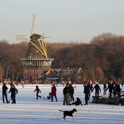 schaatsen in Rotterdam