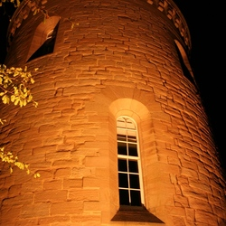 Dalhousie Castle by night
