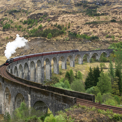 The Glenfinnan viaduct!