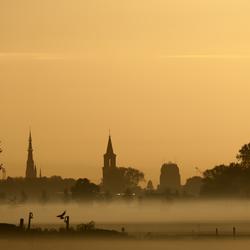 Skyline van Leeuwarden