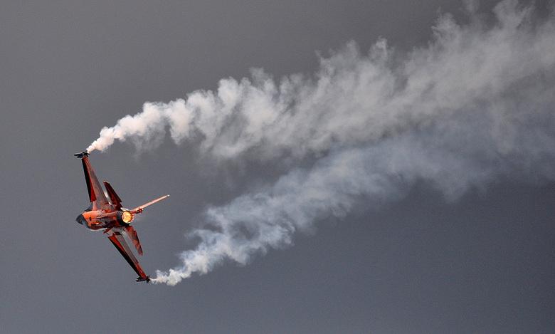 F-16 Volkel - Gisteren tijdens de airschow in Volkel genomen.
