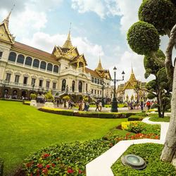 Het paleis van de Koning in Bangkok