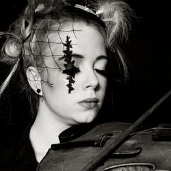 My violin .