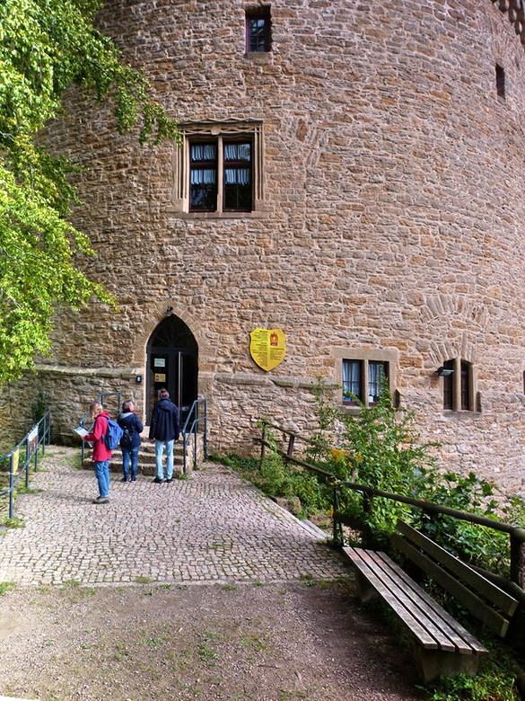 Verdedigingstoren goslar. - Nog een plaatje van het vervolg van de vorige foto van de verdedigingstoren uit 1517 die dienst doet als museum, voor midd