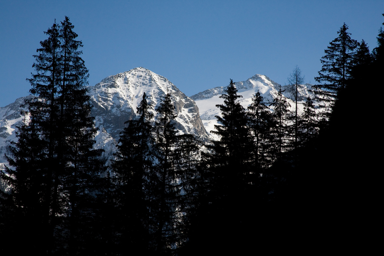 Verscholen dal 4 - Nog eentje van het Kotschachtal bij Bad Gastein in het Salzburgerland van Oostenrijk.