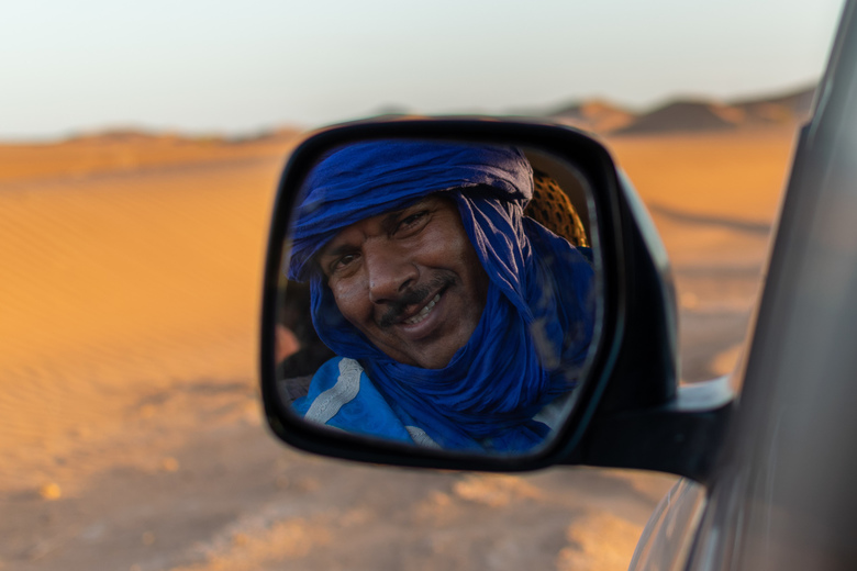 Cruising the Sahara -