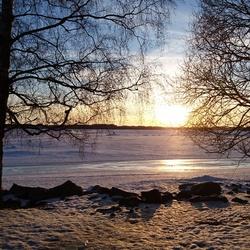 Frozen sea, Kalastajatorppa, Helsinki