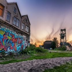 De stoere kant van Rotterdam (opening BMX parcour)