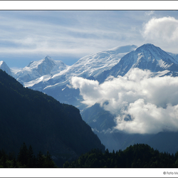 The mighty Mont Blanc