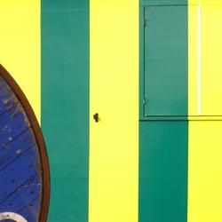 Geel + blauw = groen