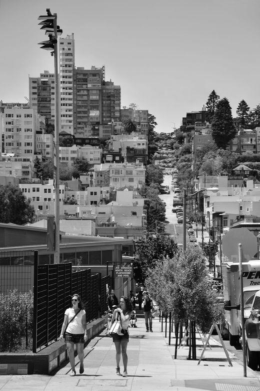 Lombard Street, San Fransisco  - Lombard Street, San Fransisco