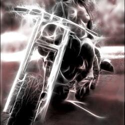Biker-babe