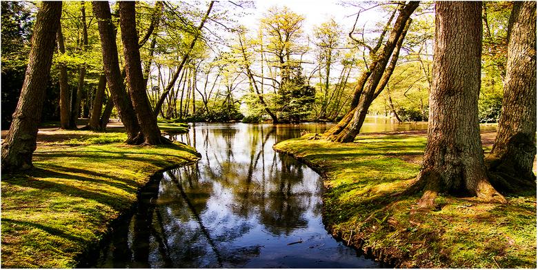 """MOLENVIJVERPARK  - Stadspark: """" De Molenvijverpark"""" van Genk."""