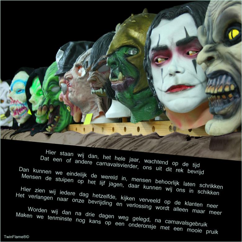 MonsterMaskers Fotogedicht - Als echte Limburgers hebben wij hier maar één ding bij te vermelden: <br /> <br /> ALAAAAAAAAF! <br /> <br /> Fijne c