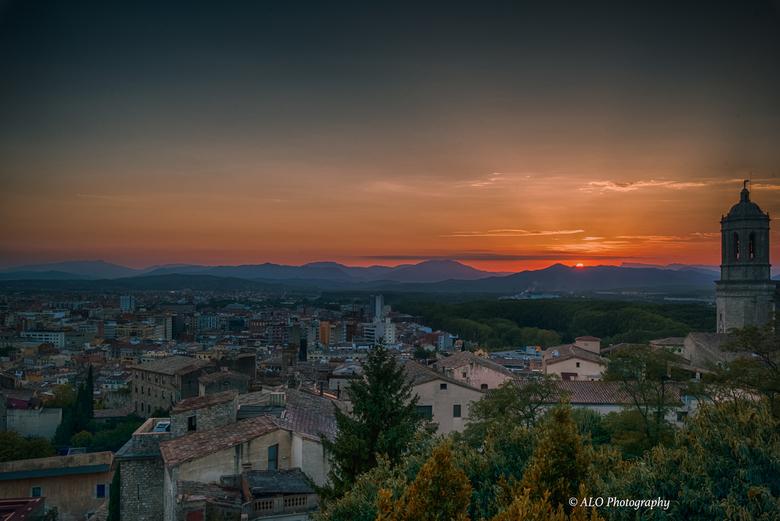 Gerona Sunset -