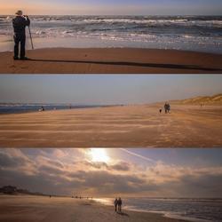 Stranddag tussen Egmond a Zee en Bergen a Zee.