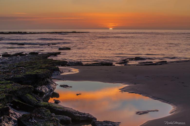 Sunset at the Opalcoast
