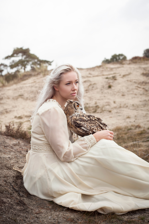 Owl love - Model: Dominique van Ee<br />