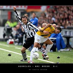 Heracles - NAC 0-1 ... helaas...