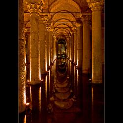 Basilica Cistern Istanboel
