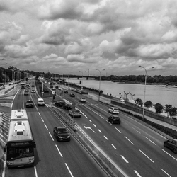 Wisla river - Warsaw