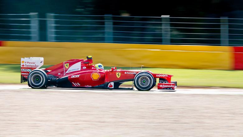 F1 Spa Francochamps - Philippe Massa, F1 Ferrari 2012.<br />