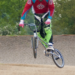 fietscross traning