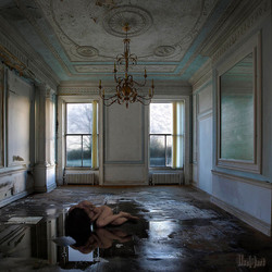 Lost and home alone - selfportrait.